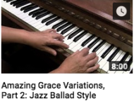 Amazing Grace Variations part 2