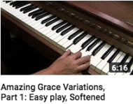 Amazing Grace Variations Part 1
