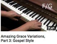 Amazing grace variations part 3