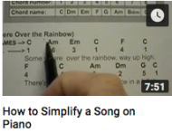 How to simplify a song