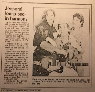 Jeepers Article
