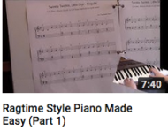 Ragtime style made easy