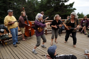 Improv Jam on the Deck
