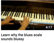 Why the blues scale sounds bluesy