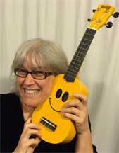 Suz Smiley Uke Graphic