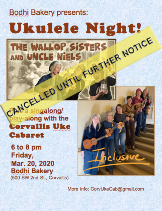 Uke Night Cancelled